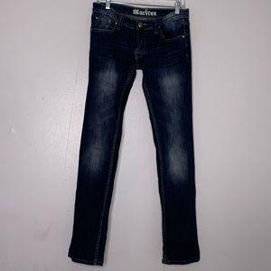 Machine Novelle Mode Dark Denim Women's Jeans 30